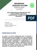 NORMA Oficial Mexicana NOM-249-SSA1-2010.pptx