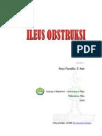 Belibis A17-Ileus Obstruksi