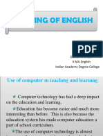 TEACHING OF ENGLISH ppt.pptx
