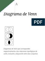 Diagrama de Venn - Wikipedia, La Enciclopedia Libre