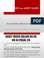 DR JHONI - Audit Medis Dan Audit Klinis