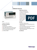 Tektronix DMM4050 and DMM4040 Digital Multimeter Datasheet 8
