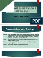 Program Kerja Devisi Penelitian & Pengembangan