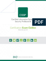 CISSP Exam Outline-V1115