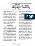 DDR-SDRAM Controller ASIC Design for High Speed Interfacing
