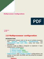 2 - 7 Multiprocessor Configurations
