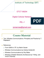 Digital Cellular Network - Lecture1