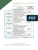 Student Information Form(for 2018 Spring Entry)