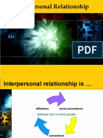 10. Interpersonal Relationship