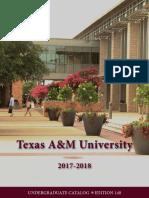2017 2018 Undergraduate