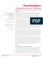 DecisionSpace Integration Server DATASHEET