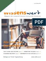 wissenswert Februar 2018 - Magazin-der-Leopold-Franzens-Universität-Innsbruck