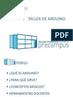 Presentación ARDUINO EPCuenca