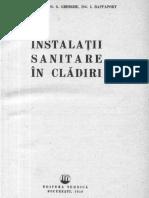 Instalatii Sanitare in Cladiri