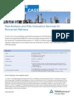 Tuv Rheinland Reference Case Risk Analysis Risk Evaluation Petrobrazi Refinery En