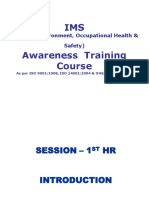 Ims -Awareness Training - Jcs