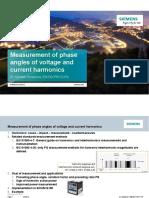 Harmonics Phase Angles