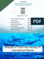 International Marketing Fish