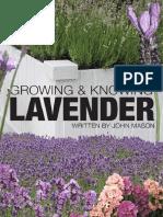 Growing Knowing Lavender Sample
