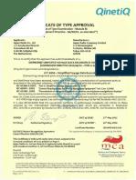 JCY-1850 SVDR MED Type Approval