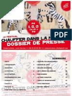 festival Chauffer dans la Noirceur 2008 - dossier de presse