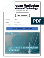 EC6711 Embedded Lab Manual Final