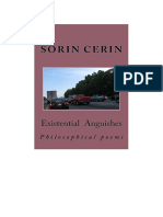 Existential Anguishes- Philosophical poems by Sorin Cerin