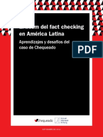 El Boom Del Fact Checking en America Latina (2014)