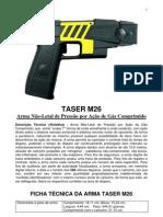 Taser m26 Ficha Tecnica