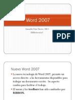 Conoce el Word 2007