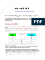 Principe de La RT PCR