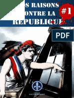 Nos Raisons Contre La République 1