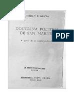 Genta. Doctrina política de San Martin a través de su correspondencia.pdf