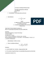 Settlement Calculation