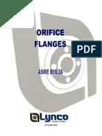 LYNCO - ORIFACE FLANGE - ASME B16.36.pdf