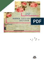 Agenda Vintage 2017-2018