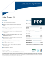 Solar Bronce 20