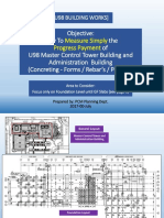 Presentation for U98 Building Progres Measurement for Concrete