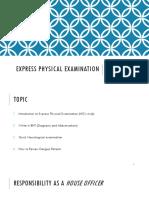 Clinical Examination Revised v4.0