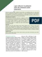 Enfermedad a Gran Altitud en La Población Pediátrica