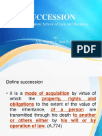 SUCCESSION- Chapter 1.ppt