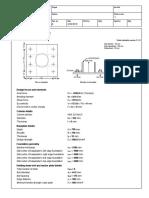 Anchorage Calculation Example
