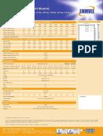 Off Grid Data Sheet