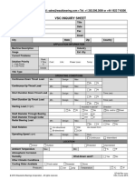 QF100 WB VSC Inquiry Sheet