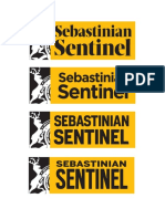 Logo Studies (Sebastinian Sentinel)