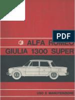 Alfa Romeo Giulia1300s