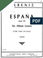 6 Album leaves ''Espana'' Op. 165.pdf