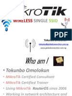Wireless Single SSID