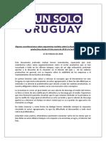 consideraciones-UnSoloUruguay-27deFebrero
