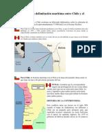 Controversia en delimitación marítima entre Chile y el Perú-Ecuador
